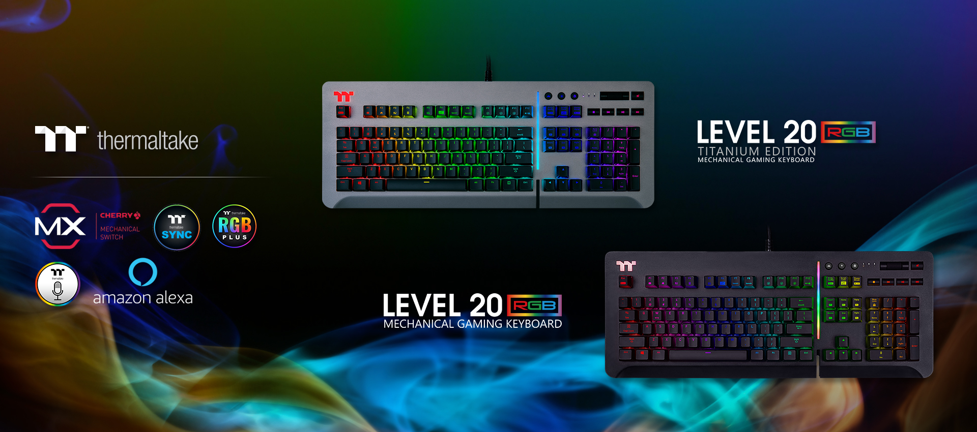 Level 20 RGB Titanium Gaming Keyboard